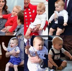 I ♥ Prince George's lively & bubbly personality! ♥♡♥ ;-)