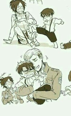 Read from the story imagenes ERURI (Erwin x levi ) by angusmariana (Anguslite) with 466 reads. Attack On Titan Comic, Attack On Titan Fanart, Attack On Titan Ships, Eren E Levi, Levi And Erwin, Atack Ao Titan, Tous Les Anime, Desenhos Love, Aot Memes