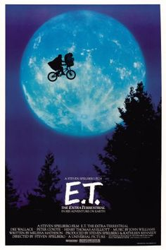 """E.T. phone home."" How many times have I seen this movie..."