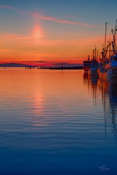 Steveston Harbor at Sundown by KCJones on 500px