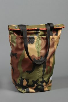 Image of Travel Tote - Ripstop Camo Draught Dry Goods Collection NO. 05