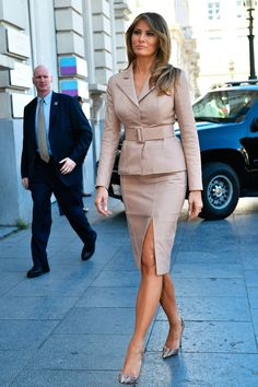 First Lady Melania Trump's Best Style Moments