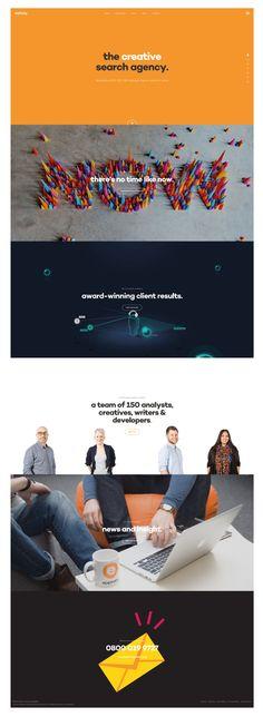 Scrolling Website homepage design ideas | http://www.epiphanysearch.co.uk/