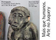 Maria Pinto: instalação Toque e exposição Mais que Humanos - pr...