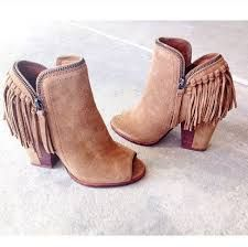 Cheap Tassel Martin Boots Pointed Toe Solid Suede Kitten Heels Short Boots  For Big Sale! 9470e71a97e2