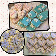 Sugar cookies for a ladies tea