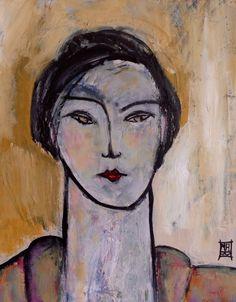 Michèle Anne Brosseau,acrylique sur toile