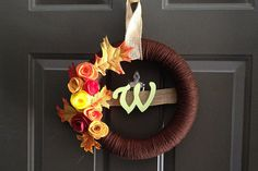 A DIY Fall Wreath for Under $25 - HackCollege
