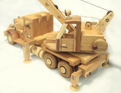 Wooden toys for children and adults. Made from wood of different breeds. Wood Projects That Sell, Diy Wood Projects, Wood Crafts, Wooden Toy Trucks, Wooden Car, Woodworking Toys, Woodworking Projects, Making Wooden Toys, Wood Toys Plans