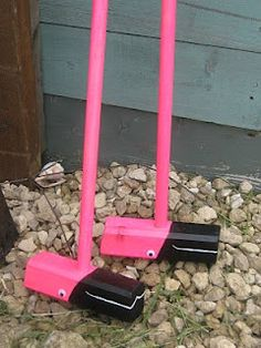 flamingo croquet mallets