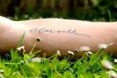 """calligraphy for a tattoo by Neither Snow -  """"do love walk"""" - do justice, love mercy, walk humbly."""