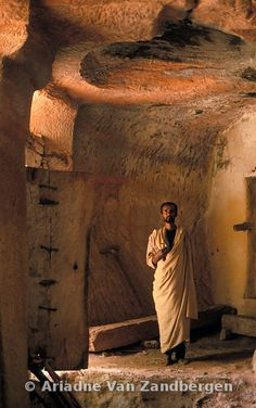Photos and pictures of: Mariam Habiti rock-hewn church interior, Eastern Tigray, Ethiopia - The Africa Image Library Sacred Architecture, Historical Architecture, Ethiopia Addis Ababa, Horn Of Africa, Temple, Church Interior, Ancient Mysteries, Abyssinian, African Countries