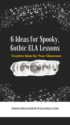 Six creative teachers share their Halloween style lesson plans for the creative ELA classroom. Packed with inspiration and free downloads, this teacher podcast episode will give you fun, new ideas to bring into your high school clasroom. Secondary Resources, Ela Classroom, Halloween Fashion, Free Downloads, Lesson Plans, Literature, High School, Teacher, How To Plan