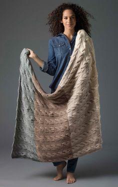 Knit Afghan - free paattern