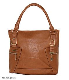 Roma Leathers - Concealed Carry Purse - Zipper Decore Concealment Tote (Brown) Roma Leathers http://www.amazon.com/dp/B00MKSD3WC/ref=cm_sw_r_pi_dp_nVXfub01Q3DT7