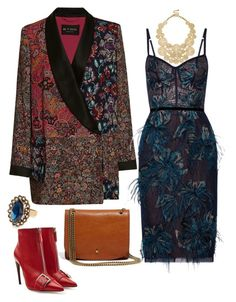 """Untitled #734"" by kore-morningstar ❤ liked on Polyvore featuring Etro, Notte by Marchesa, Sole Society, Alexander McQueen, Madewell and Chloe + Isabel"