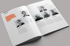 Divided Annual Report on Behance