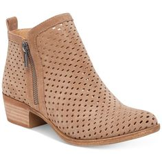 Lucky Brand Women's Perforated Basel Booties ($139) ❤
