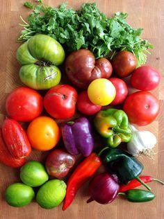My One a Year Salsa Recipe - NutrientsYouFools.com