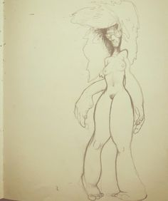 Untitled sketch by Nick Gibney