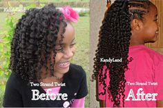 KandyLand: How To Elongate Your Twist Outs