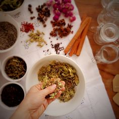 DIY tea blends for Christmas @ mytinygreenkitchen
