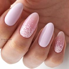 There is so much more to pink and white nails than you have ever imagined! The versatility and elegance are granted. Would you dare having a look? #nails #nailart #naildesigns #pinkandwhitenails #mani