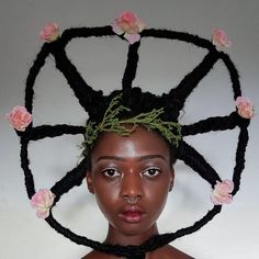 This Ivorian Artist Can Sculpt Her Hair Into Anything
