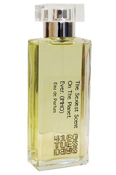 """""""This hand-blended scent from perfumer Sarah McCartney is whimsical and totally addictive. Case in point: that name. It's impossible not to love it."""" 4160 Tuesdays The Sexiest Scent on the Planet. Ever. (IMHO), $90, available at Lucky Scent."""