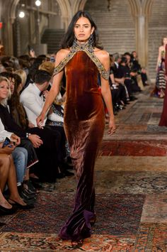 Ralph Lauren Fall-winter - Ready-to-Wear Couture Fashion, Runway Fashion, High Fashion, Fashion Show, Fashion Outfits, Womens Fashion, Fashion Design, Estilo Glamour, Ac New Leaf