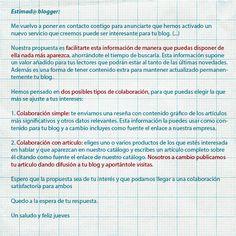 Mail empresa Soy bloguera, no estúpida