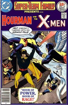 Super-Team Family: The Lost Issues!: Hourman and The X-Men