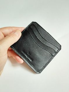 Leather Card Case, Leather Wallet, Slim Front Pocket Wallet, Custom Leather, Card Wallet, Wallets, Card Holder, Store, Mini