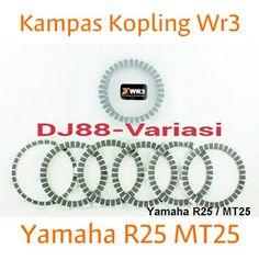 Kampas Kopling Wr3 Yamaha R25 Mt25 Sparepart Yamaha