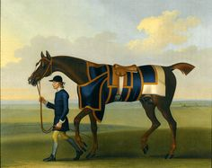 Seymour, James (1702-1752) - 1748 Portrait of the Racehorse Sedbury with a Groom (Sotheby's London, 2009)