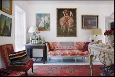 Merci @tmagazine #emilieirvin #ianirvin #sofa #lemanach #mortefontaine #interior