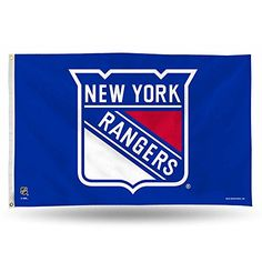 NHL New York Rangers 3-Foot by 5-Foot Banner Flag