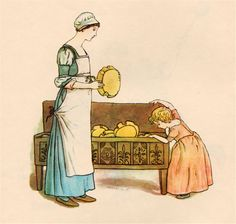 The Pied Piper of Hamelin by Robert Browning, illustrated by Kate Greenaway.