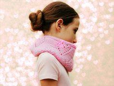 Scarves – Pink scarf - tube infinity scarf -girls gift – a unique product by KnittingMamas on DaWanda