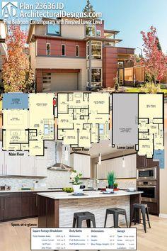 306 Modern House Plans Images Pinterest 2018 Floor Plan 6