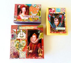 Gift Boxes Holiday gift boxes Decorative Gift by DulcetWhimsy