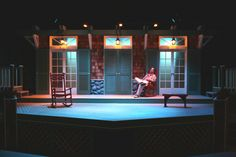 Twelfth Night. Set and costume design by Don Yanik. Seattle Pacific University.
