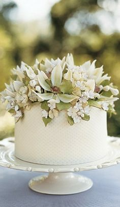 mini spring cake....  www.tablescapesbydesign.com https://www.facebook.com/pages/Tablescapes-By-Design/129811416695