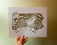 Pennsylvania State Bird Ruffed Grouse 8 x 10 Print by kelzuki, $18.00