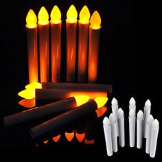 Buy 10PCS Flameless Warm White LED AAA Tea Candle Light Wedding Birthday Party Christmas decoration lightOutdoor Lighting on bdtdc.com