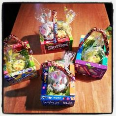 Edible easter baskets grab your kiddos favorite candy bars and hawaii vacation cotton basket ideas easter gift gift ideas easter baskets holiday ideas gift basket ideas negle Gallery
