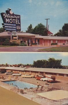 Flamingo Motel, Route 66 - Tulsa, Oklahoma i love how its back in the day! Route 66 Oklahoma, Historic Route 66, Tulsa Oklahoma, Oklahoma Attractions, Oklahoma City, Travel Oklahoma, Route 66 Road Trip, Travel Route, Vintage Hotels