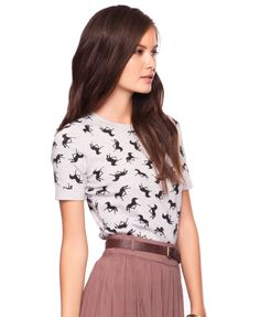 equine knit top $19.80 forever 21