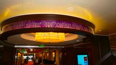 Tropicana Room Entrance on Norwegian Getaway - www.cruiseplannersco.com