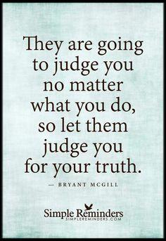 __ⓠ Bryant McGill __[SimpleReminders/FB] #JudgeNot!